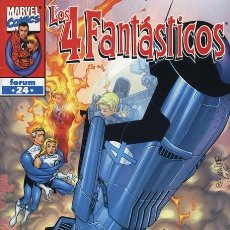 Cómics: 4 FANTASTICOS VOL. 3 Nº 24 - FORUM - IMPECABLE. Lote 86740736