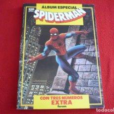 Cómics: ALBUM ESPECIAL SPIDERMAN 3 NUMEROS PRIMAVERA VACACIONES Y NAVIDAD ¡BUEN ESTADO! 1987 FORUM . Lote 86796384