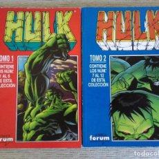 Cómics: HULK VOL 4. Nº 1 AL 12 EN 2 RETAPADOS. COMPLETA. FORUM. Lote 86995932