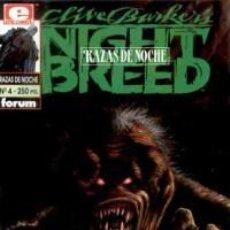 Comics: NIGHT BREED, RAZAS DE NOCHE Nº 4 - FORUM - MUY BUEN ESTADO. Lote 87068048