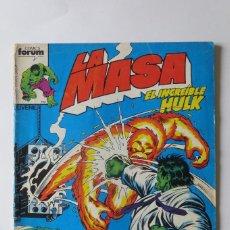 Cómics: LA MASA Nº 22. VOL.1 FORUM. Lote 87400228