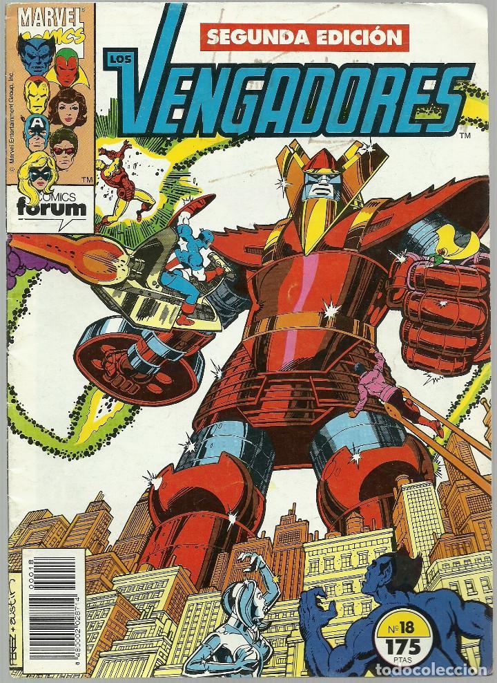 LOS VENGADORES Nº 18 - MARVEL FORUM (Tebeos y Comics - Forum - Vengadores)