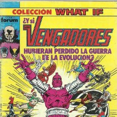 Cómics: LOS VENGADORES Nº 8 COLECCION WHAT IF - FORUM. Lote 87444768