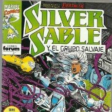 Cómics: SILVER SABLE Y EL GRUPO SALVAJE Nº 6 DE 6 SERIE LIMITADA - MARVEL FORUM. Lote 87462956