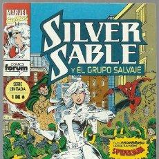 Cómics: SILVER SABLE Y EL GRUPO SALVAJE Nº 1 DE 6 SERIE LIMITADA - MARVEL FORUM. Lote 87463180