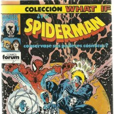 Cómics: SPIDERMAN COLECCION WHAT IF Nº 42 - MARVEL FORUM. Lote 87463308