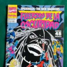 Cómics: FUERZAS DE LA OSCURIDAD -SPIDERMAN THE NEW WARRIORS Nº 4 DE 4 - ESPECIAL 48 PAGINAS - MARVEL FORUM. Lote 87463440