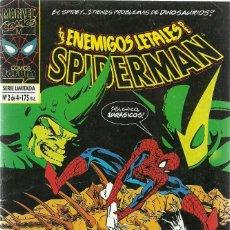 Cómics: SPIDERMAN LOS ENEMIGOS LETALES Nº 2 DE 4 SERIE LIMITADA - MARVEL FORUM. Lote 87463580