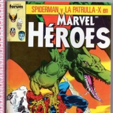 Cómics: D50 MARVEL HEROES SPIDERMAN PATRULLA X KAZAR GALACTUS 165 PAG PACK 5 NUMEROS DEL 31 AL 35 AÑO 1989. Lote 88113232