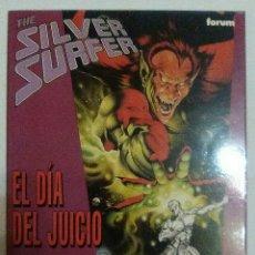 Cómics: SILVER SURFER. EL DIA DEL JUICIO. STAN LEE. JOHN BUSCEMA. FORUM.. Lote 88178496