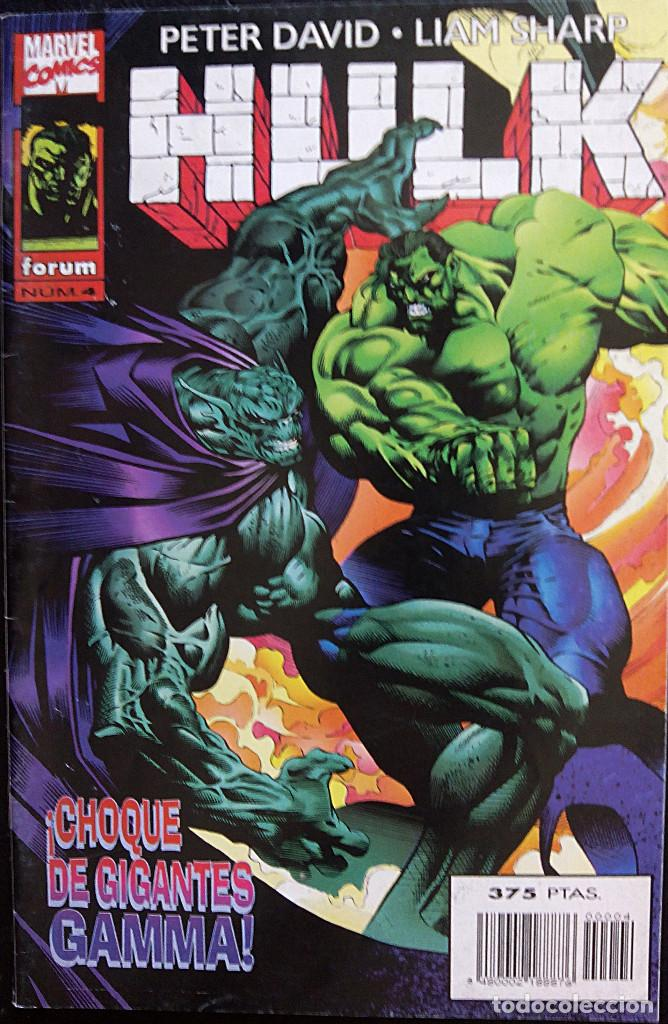 Cómics: HULK PACK LOTE DEL Nº 1 AL Nº 7 DE PETER DAVID & LIAM SHARP FORUM COMICS fantasmas del futuro - Foto 4 - 88758800