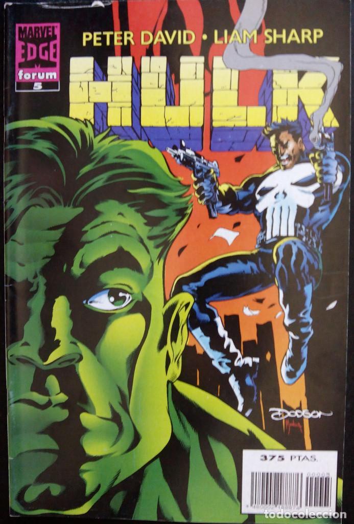 Cómics: HULK PACK LOTE DEL Nº 1 AL Nº 7 DE PETER DAVID & LIAM SHARP FORUM COMICS fantasmas del futuro - Foto 5 - 88758800