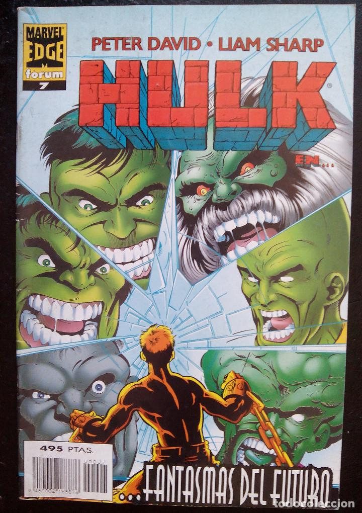 Cómics: HULK PACK LOTE DEL Nº 1 AL Nº 7 DE PETER DAVID & LIAM SHARP FORUM COMICS fantasmas del futuro - Foto 7 - 88758800