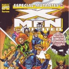 Cómics: ESPECIAL MUTANTES. X-MEN UNLIMITED. Lote 219244167