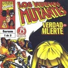 Cómics: LOS NUEVOS MUTANTES. VERDAD O MUERTE #1. Lote 88821212