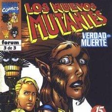 Cómics: LOS NUEVOS MUTANTES. VERDAD O MUERTE #3. Lote 88821232