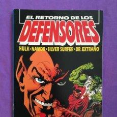 Cómics: EL RETORNO DE LOS DEFENSORES - TOMO EXTRA VERANO DE 128 PÁGINAS -. Lote 88874232