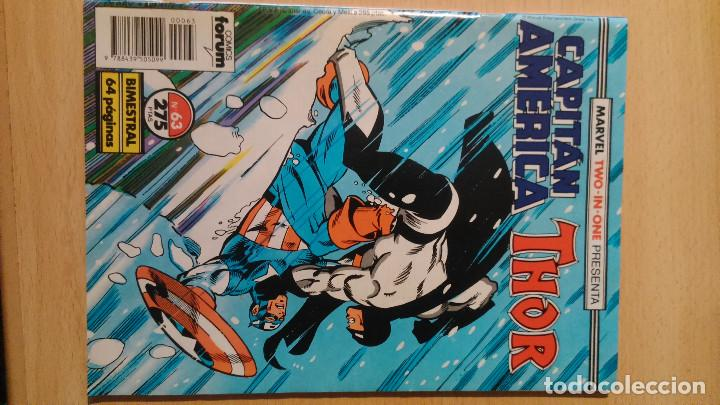 Cómics: Capitán América / Thor nº 63 y 64 Fórum - Foto 2 - 88958036
