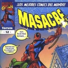 Cómics: MASACRE VOL.3 #12. Lote 88982000