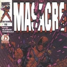 Cómics: MASACRE VOL.3 #15. Lote 88982188