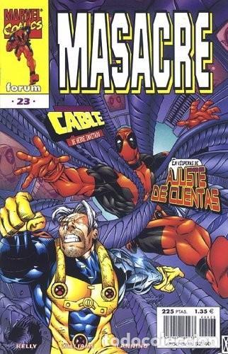 MASACRE VOL.3 #23 (Tebeos y Comics - Forum - Otros Forum)