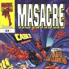 Cómics: MASACRE VOL.3 #23. Lote 116044880
