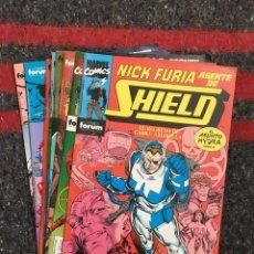 Cómics: NICK FURIA AGENTE DE S.H.I.E.L.D VOL.1 COMPLETA. Lote 89040688