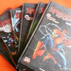 Cómics: SPIDERMAN. BUSIEK. LAS HISTORIAS JAMÁS CONTADAS. 6 TOMOS TAPA DURA. BUEN ESTADO.. Lote 89068564
