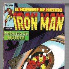 Cómics: TEBEO. IRON MAN EL HOMBRE DE HIERRO. Nº 7. EN BUSCA DE MUERTE. Lote 89166648