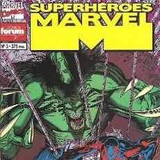 Cómics: SUPERHÉROES MARVEL VOL.1 Nº 3 - HULK 2099 SPIDERMAN 2099 FORUM - EJEMPLAR NUEVO. Lote 89170220