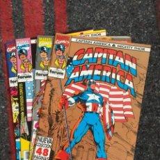 Cómics: CAPITÁN AMÉRICA & THOR NºS 1 3 4 Y 11. Lote 89289820