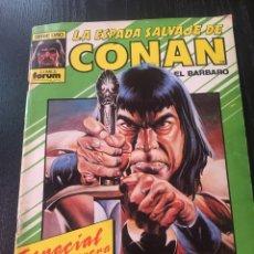 Cómics: LA ESPADA SALVAJE DE CONAN ****ESPECIAL PRIMAVERA*** 1986. Lote 89387462