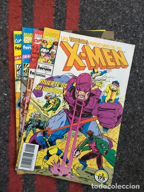 LAS NUEVAS AVENTURAS DE LOS X-MEN NºS 2 4 10 Y 11 - TAMBIÉN SUELTOS (Tebeos y Comics - Forum - X-Men)