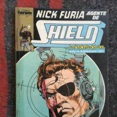 Cómics: NICK FURIA AGENTE DE SHIELD NºS 6 7 8 9 Y 10 EN UN RETAPADO. Lote 89409836