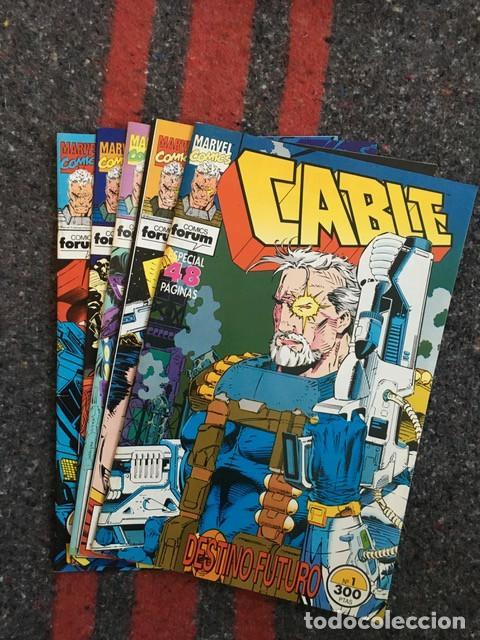 LOTE CABLE VOLÚMEN 1 NºS 1 3 6 7 Y 12 - TAMBIÉN SUELTOS (Tebeos y Comics - Forum - X-Men)