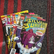 Cómics: LOTE SILVER SURFER NºS 2 3 4 7 8 + EXTRA PRIMAVERA. Lote 89413200