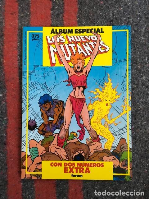 ÁLBUM ESPECIAL LOS NUEVOS MUTANTES CON 2 NºS EXTRA (PRIMAVERA + VERANO 1987) (Tebeos y Comics - Forum - Nuevos Mutantes)