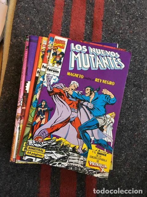 LOTE LOS NUEVOS MUTANTES 13 NºS - 8 42 43 48 49 50 52 53 59 60 + ESPECIAL VERANO 1991 (Tebeos y Comics - Forum - Nuevos Mutantes)