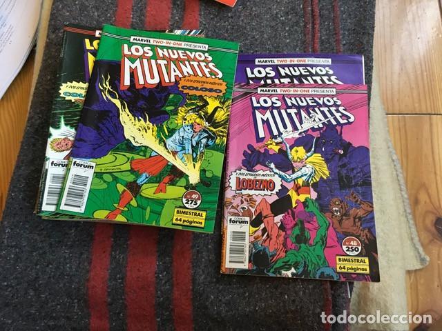 Cómics: Lote Los Nuevos Mutantes 13 nºs - 8 42 43 48 49 50 52 53 59 60 + Especial Verano 1991 - Foto 3 - 89469688