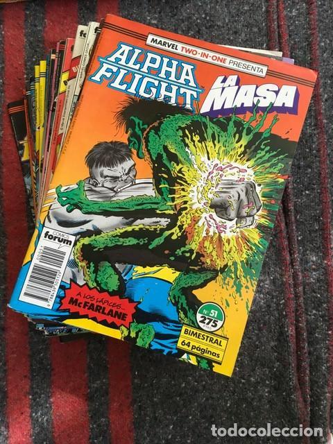 LOTE ALPHA FLIGHT & LA MASA 11 NÚMEROS (Tebeos y Comics - Forum - Alpha Flight)