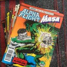 Cómics: LOTE ALPHA FLIGHT & LA MASA 11 NÚMEROS. Lote 89472552