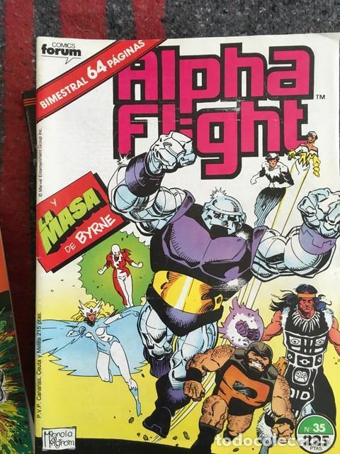 Cómics: Lote Alpha Flight & La Masa 11 números - Foto 2 - 89472552