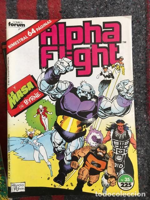 Cómics: Lote Alpha Flight & La Masa 11 números - Foto 3 - 89472552