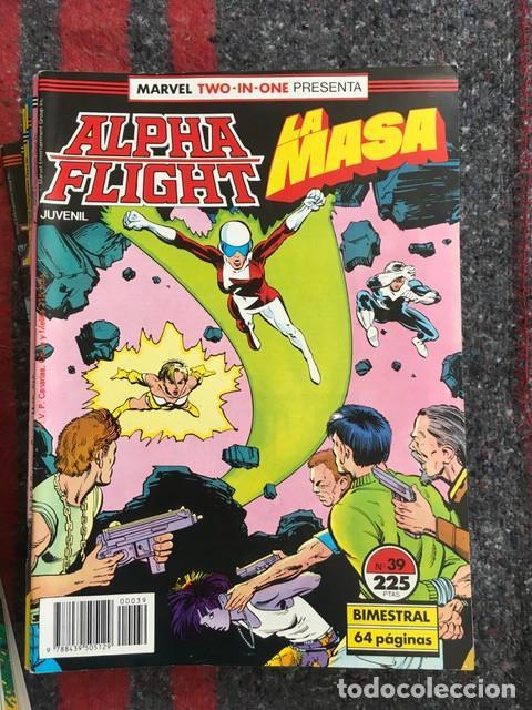 Cómics: Lote Alpha Flight & La Masa 11 números - Foto 4 - 89472552