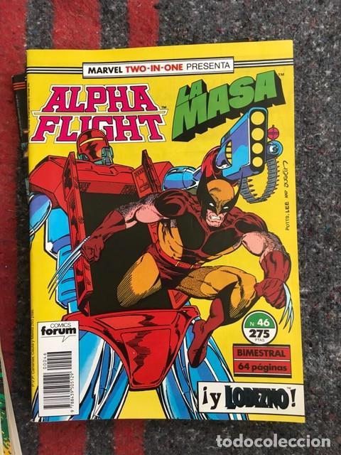 Cómics: Lote Alpha Flight & La Masa 11 números - Foto 5 - 89472552