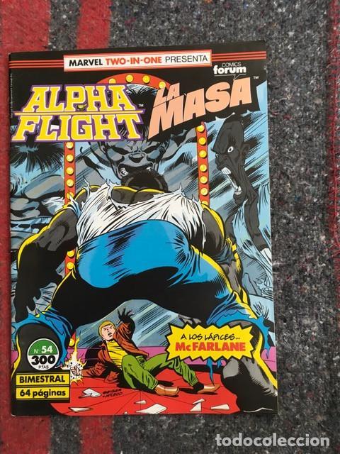 Cómics: Lote Alpha Flight & La Masa 11 números - Foto 6 - 89472552