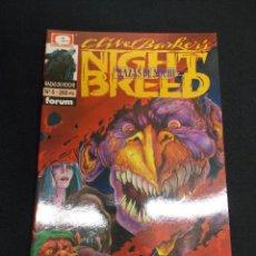 Cómics: NIGHT BREED - RAZAS DE NOCHE - Nº 5 - FORUM - . Lote 89572096