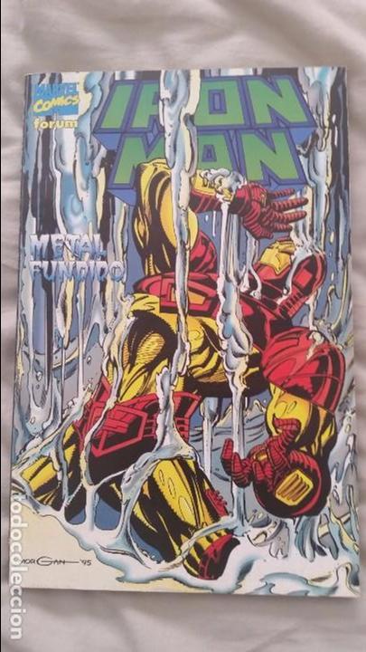 IRON MAN - METAL FUNDIDO - FORUM (Tebeos y Comics - Forum - Iron Man)