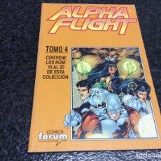 Cómics: ALPHA FLIGHT VOL 2 - TOMO RECOPILATORIO Nº 4 - CONTIENE Nº 16 AL 20. Lote 90057928