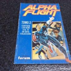 Fumetti: ALPHA FLIGHT VOL 2 - TOMO RECOPILATORIO Nº 2 - CONTIENE Nº 6 AL 10. Lote 209894400